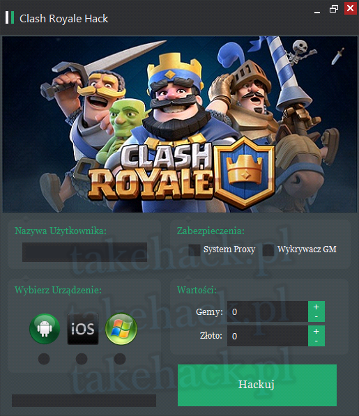 Clash Royale Hack na Gemy 2020