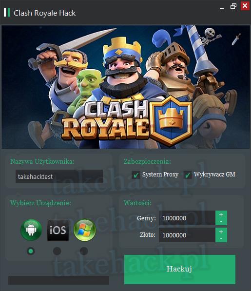 Hack do Clash Royale