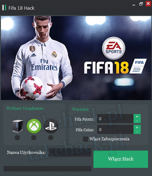 Fifa 18 Hack na Fifa Points i Fifa Coins