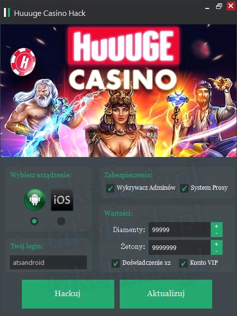 Huuuge Casino Hack na Żetony 2018