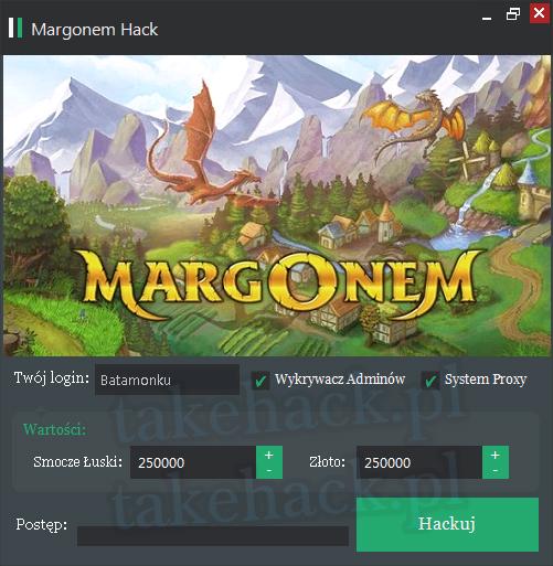 Margonem Hack na Złoto
