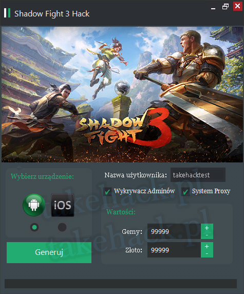 Hack do Shadow Fight 3