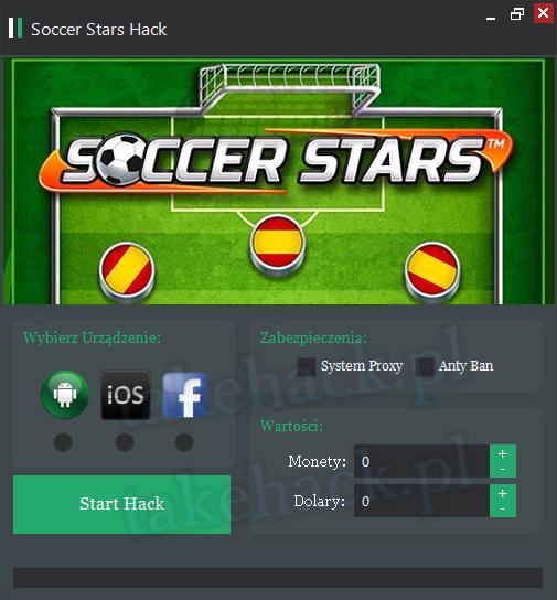 Soccer Stars Hack na Dolary 2018