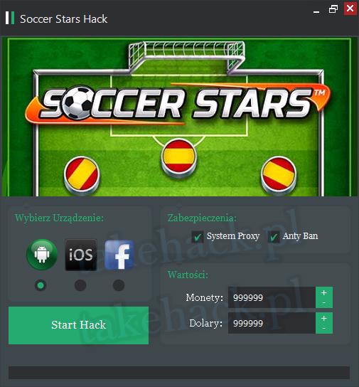 Soccer Stars Darmowe Dolary