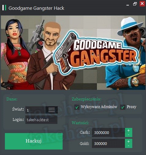Hack do Goodgame Gangster